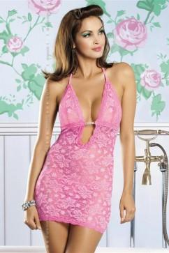 Erotická košieľka   Brilliant Jennifer pink