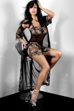 Erotický župan Hera Dressing Gown  XXL