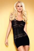 Erotické šaty D307 black