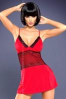 Dámska košieľka Lamia chemise red