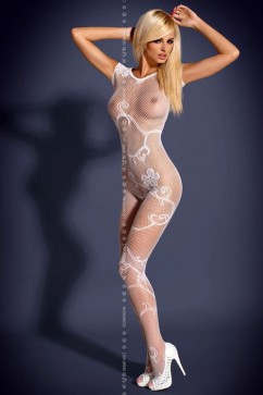 Bodystocking F201 white