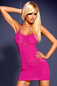 Erotické šaty D307 pink