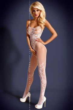 Bodystocking F205 white