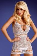Erotické šaty D208 white