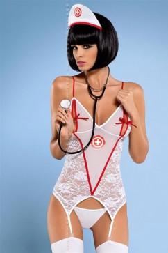 Erotický kostým Medica corset + stetoskop