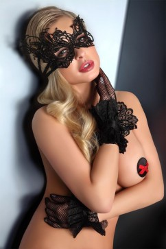 Erotická maska Gloves 12