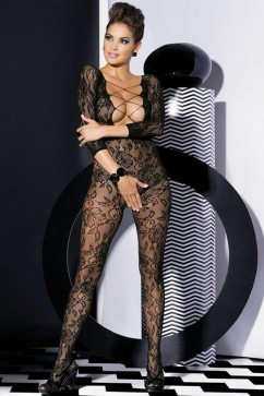 Bodystocking F200 black XXL