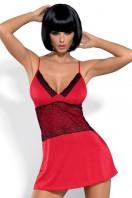 Dámska košieľka Lamia chemise red XXL