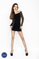 Erotické šaty BS025 black