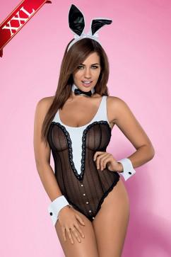 Erotický kostým Bunny teddy XXL