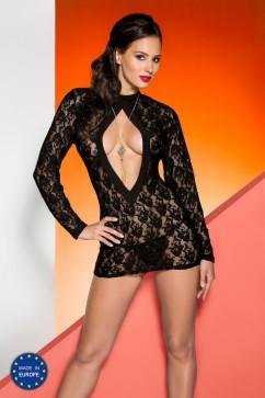 Erotická košieľka   Rayen chemise black