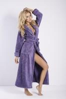 Dámsky župan Eliza long violet