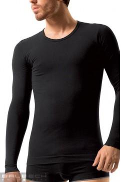 Pánske bezšvové prádlo LS 01120 Long sleeve white
