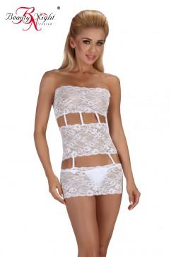 Erotické šaty Sibille white