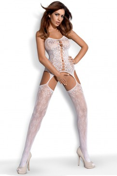 Bodystocking F209 white