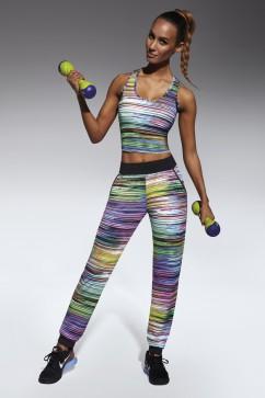 Fitness nohavice Tropical