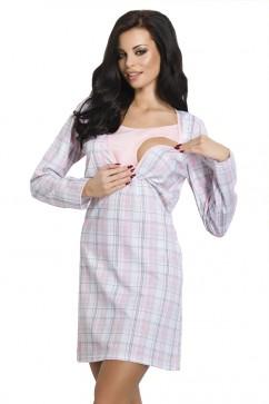 Dámska nočná košeľa 1091 Linda pink