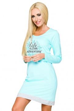 Nočná košeľa 1030 Viva turquoise