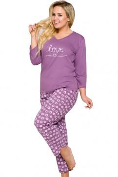 Dámske pyžamo  1046 Felicja violet
