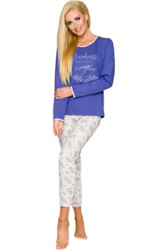 Dámske pyžamo Gabi 211 blue