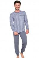 Pánske pyžamo Max 374 grey