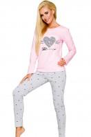 Dámske pyžamo Gala 2113 pink-grey