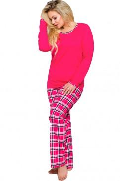 Dámske pyžamo Ela 714 red