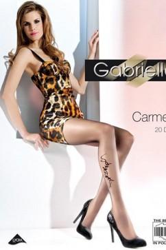 Dámske pančucháče Carmen 369 gray-brown