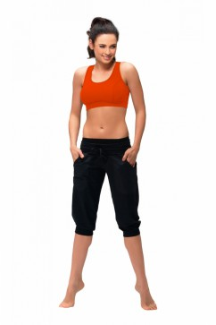 Fitness capri Roma nair black