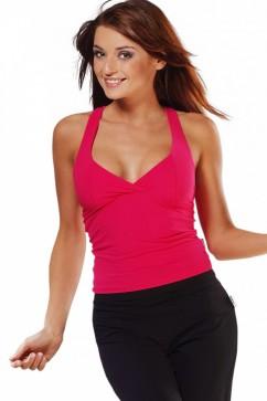 Fitness tielko Donna II fuchsia