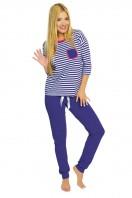 Dámske pyžamo Malaga blue