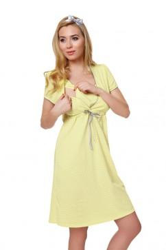 Dámska dojčiaca košeľa Felicita yellow