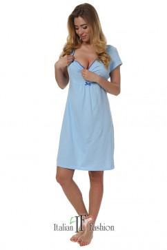 Dámska nočná košeľa  Dagna blue